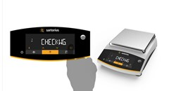 Integrated applications: Check Weighing