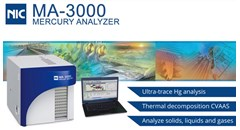NIC MA-3000 Direct Thermal Decomposition Mercury Analyzer