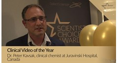 Clinical Video of the Year winner Dr. Peter Kavsak: Why scientists need to share troponin testing...