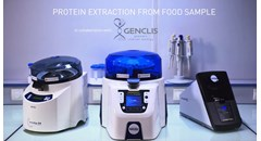 Protein extraction from food samples with the Precellys Evolution