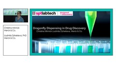 Merck scientists present: dragonfly dispensing in drug discovery