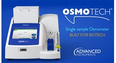 OsmoTECH Single-Sample Osmometer: Built for biotech