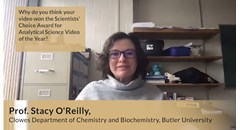 Award winner Prof. Stacy O'Reilly highlights the importance of The Scientists' Channel