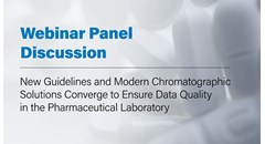 New guidelines and modern chromatographic solutions to ensure data quailty in the pharmaceutical lab
