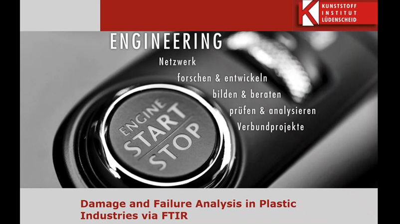 Damage and failure analysis of plastics with Bruker Optics