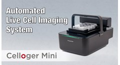 Celloger Mini, Automated Live Cell Imaging System by CURIOSIS
