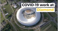 COVID-19 work at Diamond Light Source