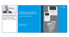 Ensure Sample Quality Control with Agilent's TapeStation Systems