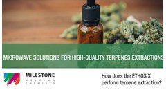 Using microwave extraction to obtain high-quality terpenes