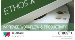 Improved workflow & productivity with ETHOS X for fat determination