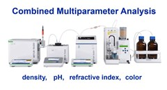 Multiparameter Analysis of Density, Refractive Index, pH and Color