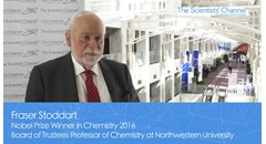 Interview with Nobel Laureate Fraser Stoddart