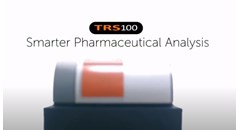 Smarter pharmaceutical analysis with TRS100