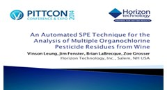 an-automated-spe-technique-for-the-analysis-of-multiple-organochlorine-pesticide-residues-from-wine