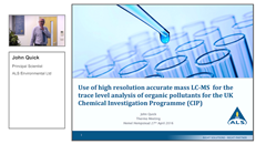 successful-use-of-high-resolution-accurate-mass-for-trace-level-analysis-of-organic-pollutants