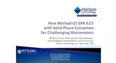 Webcast: New Method US EPA 625 with Solid Phase Extraction for Challenging Wastewaters