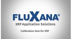 FluXana Calibration Sets for X-ray Fluorescence Analysis